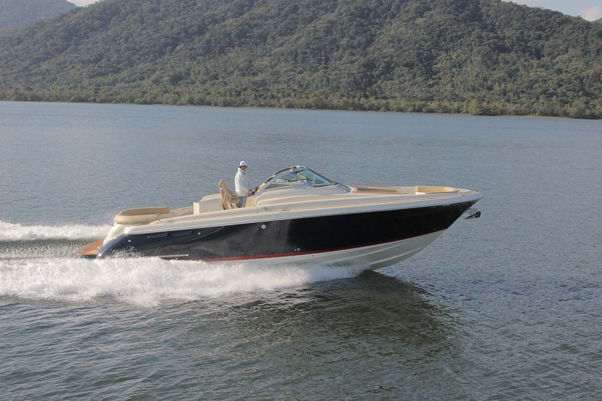 Chris Craft Launch 36 Boat Teste