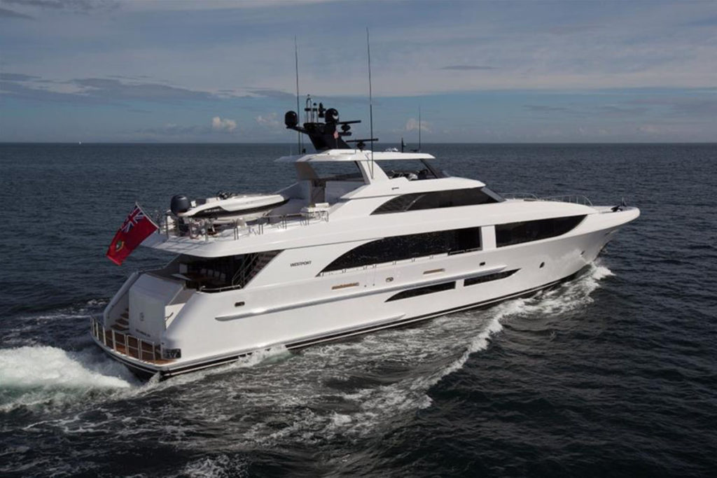 Westport 125 Superyacht