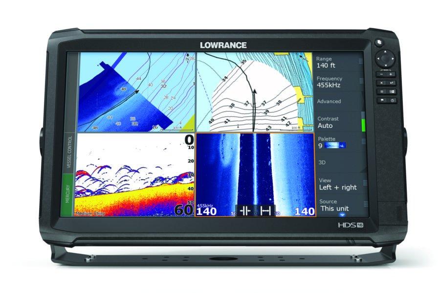Lowrance lança novo modelo HDS Carbon 16