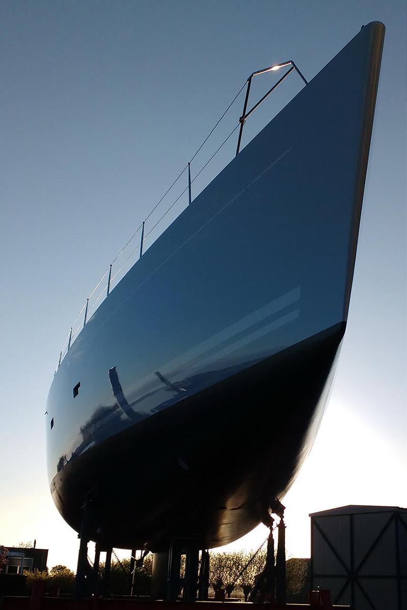 Royal Huisman finaliza refit no veleiro Gliss