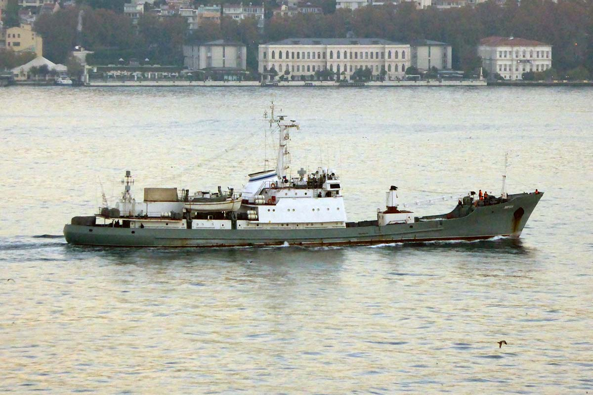 Navio da marinha russa Liman