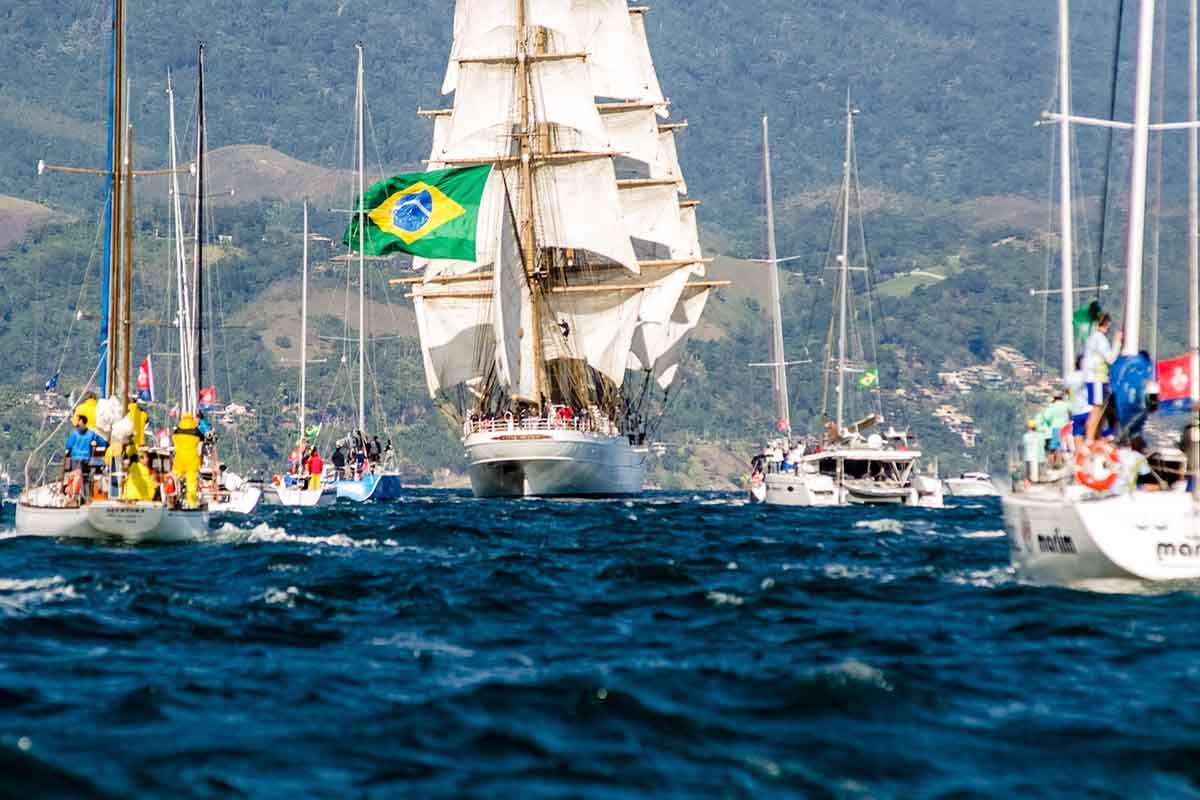 Semana de Vela de Ilhabela - boat shopping