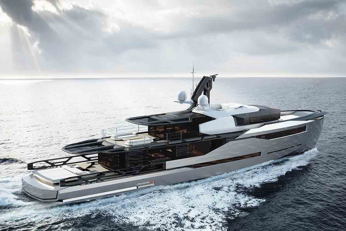 Design yacht conceito aeon 380 - boat shopping