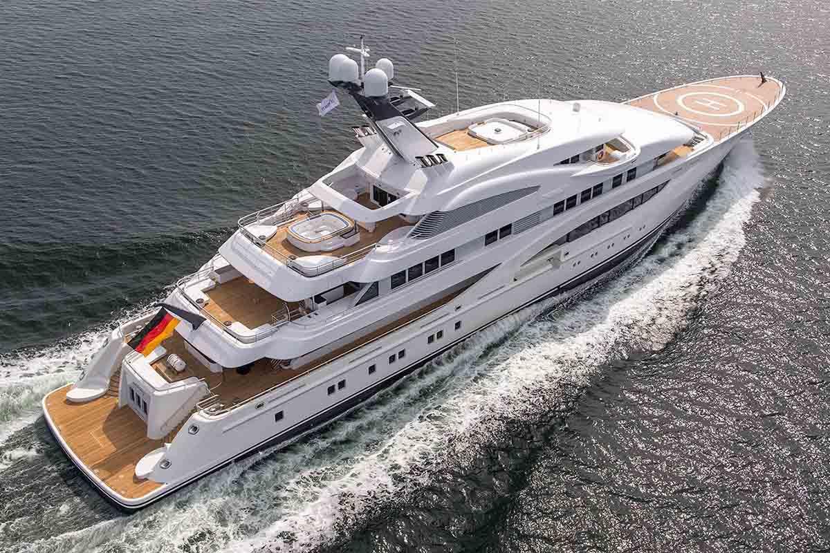 lurssen superiate areti - boat shopping