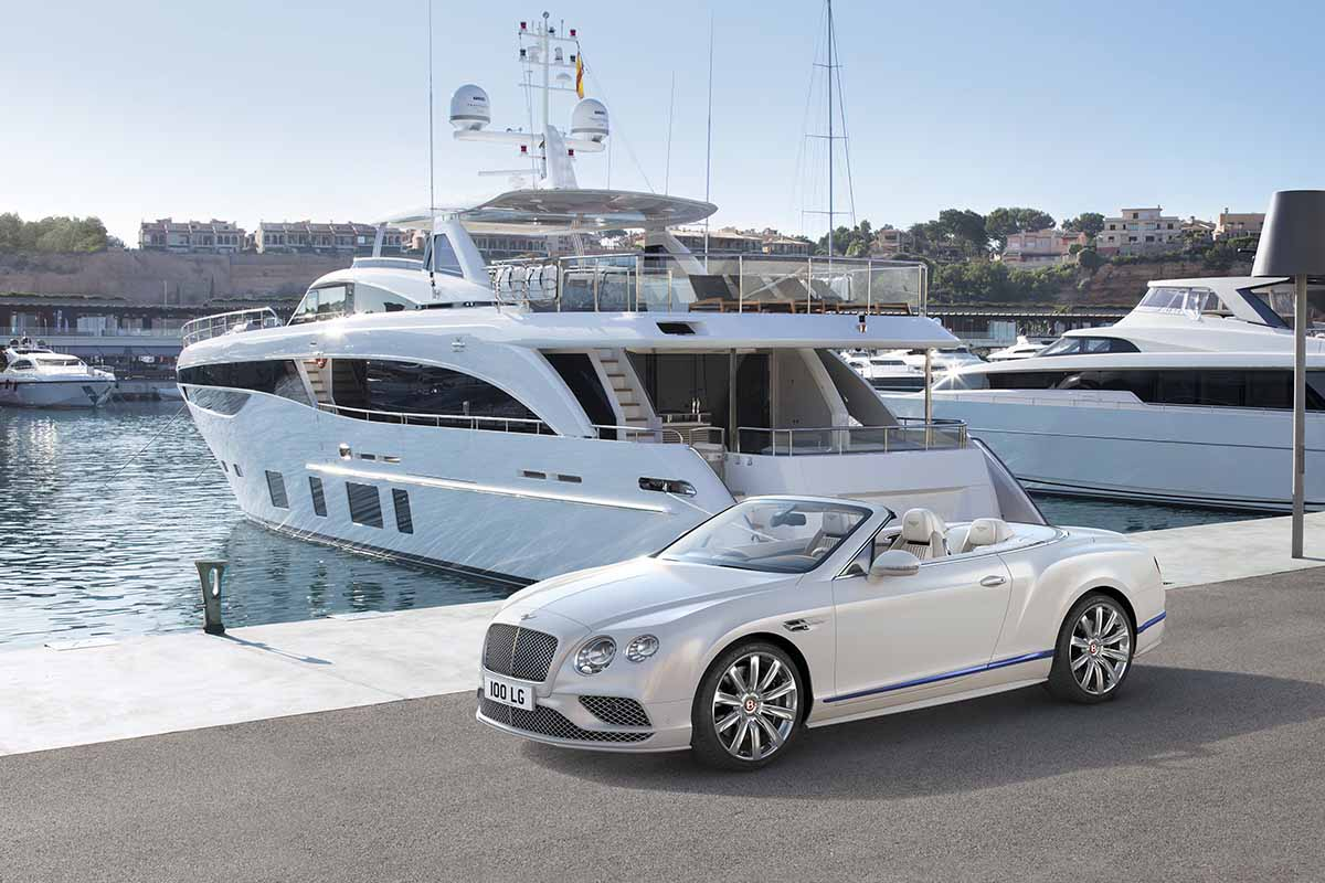 novo bentley em parceria com a princess yachts - boat shopping