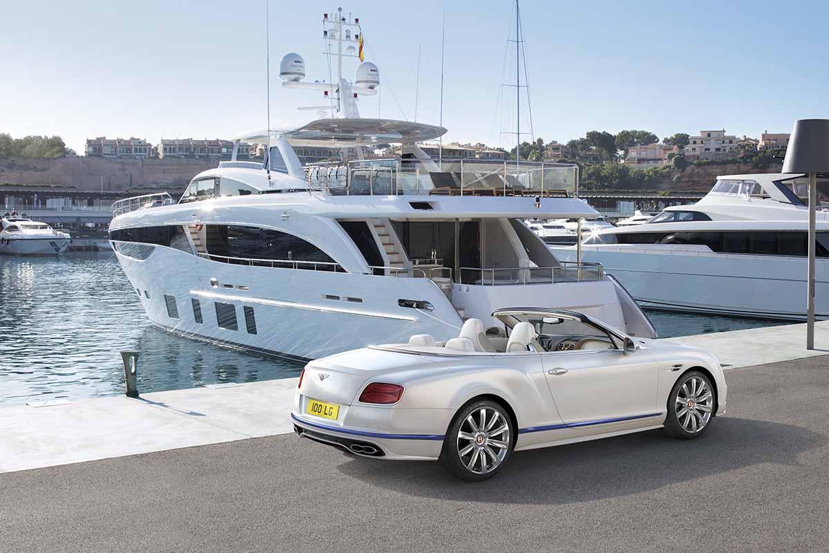 novo bentley em parceria com a princess yachts - boat shopping