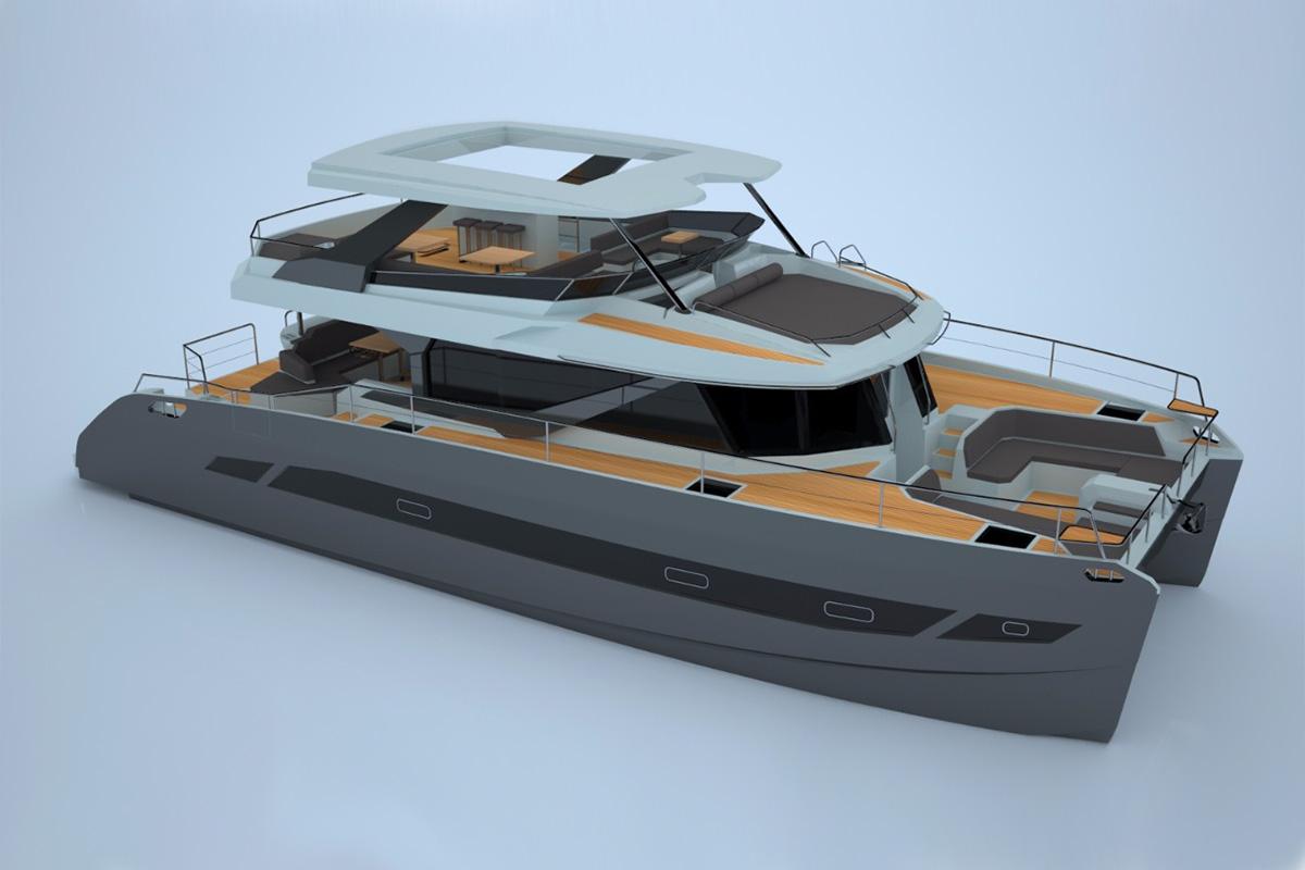 Aguz Cat 60 - boat shopping