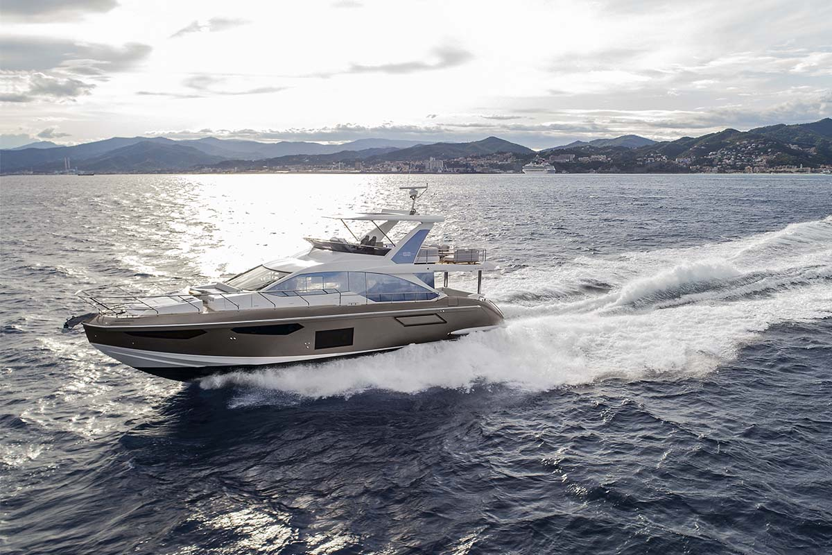 Azimut 62 fabricada no brasil - boat shopping