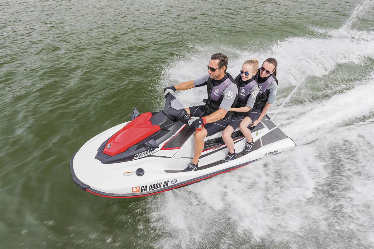 Confira a nova linha yamaha waverunner para 2018 boat for Yamaha ex waverunner