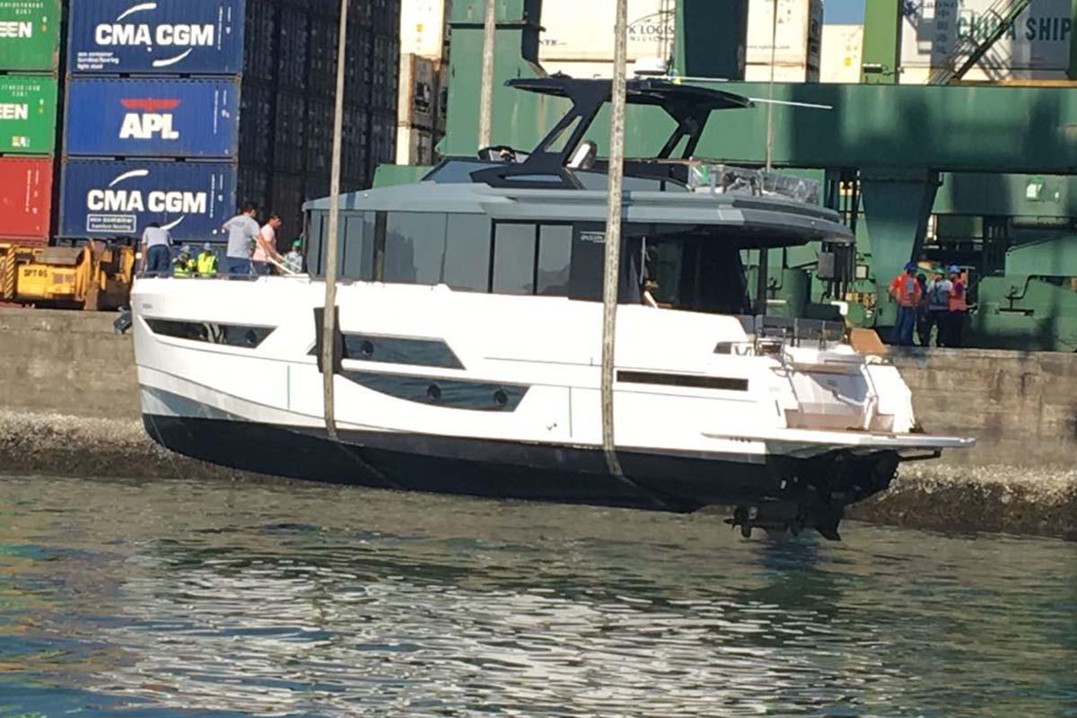 okean 50 embarcando para eua - boat shopping 4