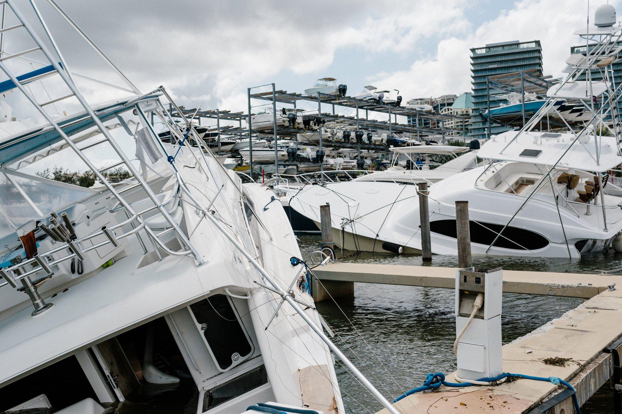 furacão irma sul da flórida