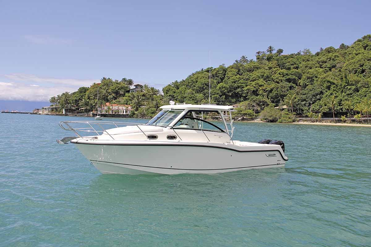 boat teste boston whaler 315 conquest - boat shopping (7)