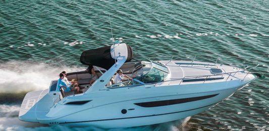 sp marine mondblu sea ray 375 boat xperience - boat shopping