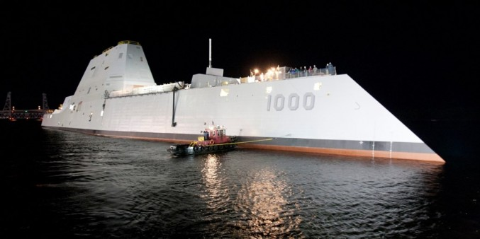 1. USS Zumwalt (DDG 1000)