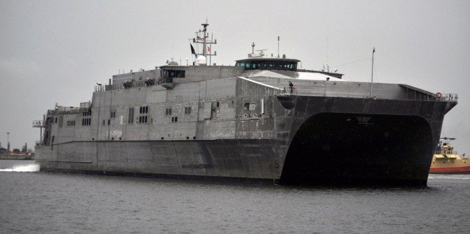 4. USNS Spearhead (JHSV 1)