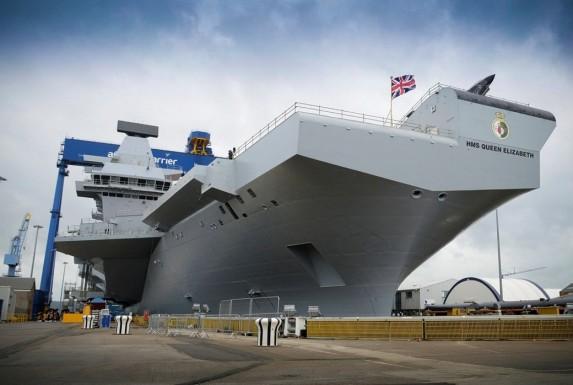 5. HMS Queen Elizabeth (R08)
