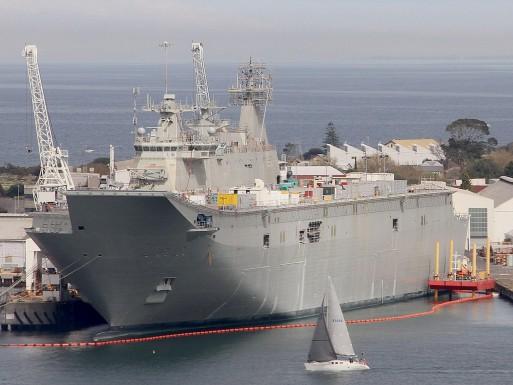7. HMAS Canberra (LHD 02)