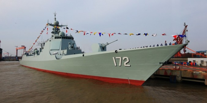 8. Type 052D Destroyer