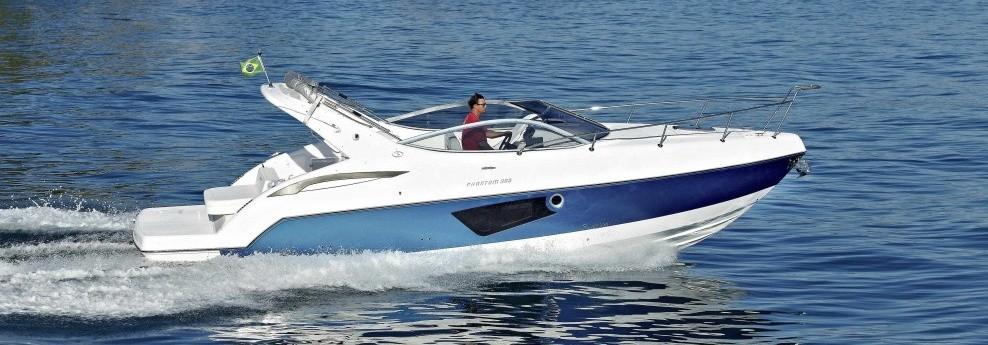 Phantom 30 3 será o barco de entrada do estaleiro na Coreia do Sul