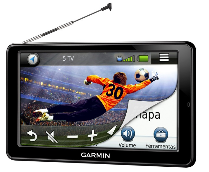 gps automotivo garmin