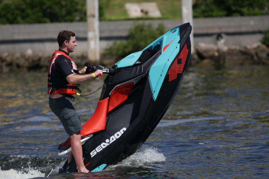 Boat Teste - Sea doo spark trixx