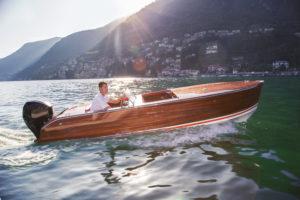 Hotel italiano disponibiliza lanchas Riva aos hóspedes