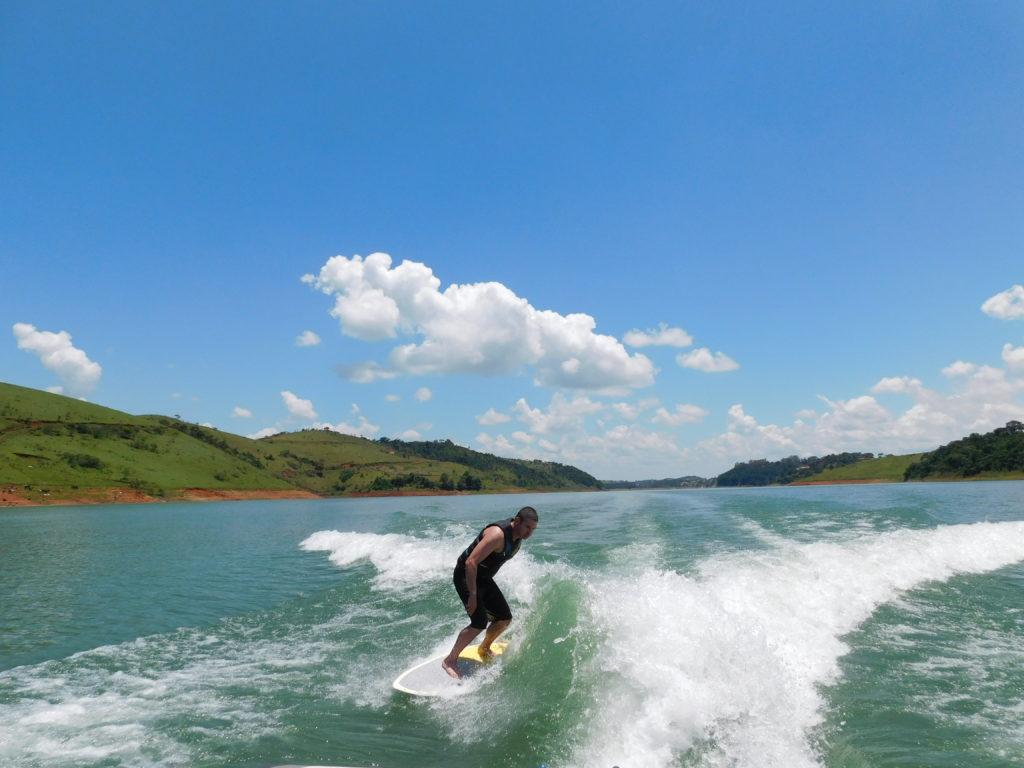 Wakesurf sem complicação