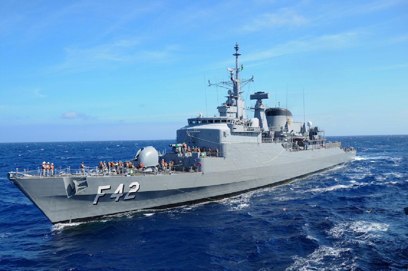 Navios da Marinha estarão abertos a visita gratuita neste fim de semana