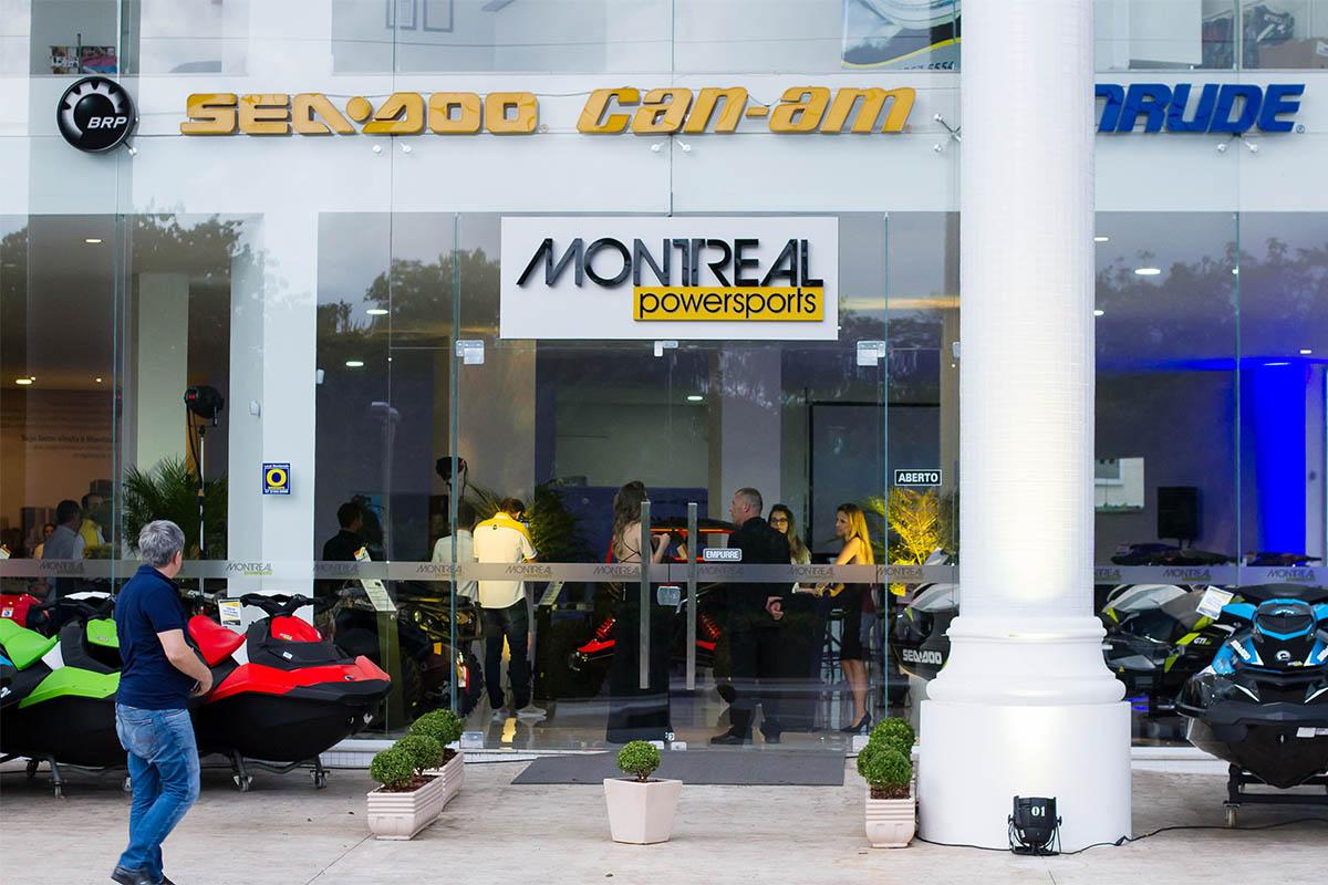 Inauguração Montreal Powersports - BRP