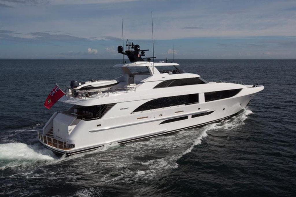Westport 125 Superyacht