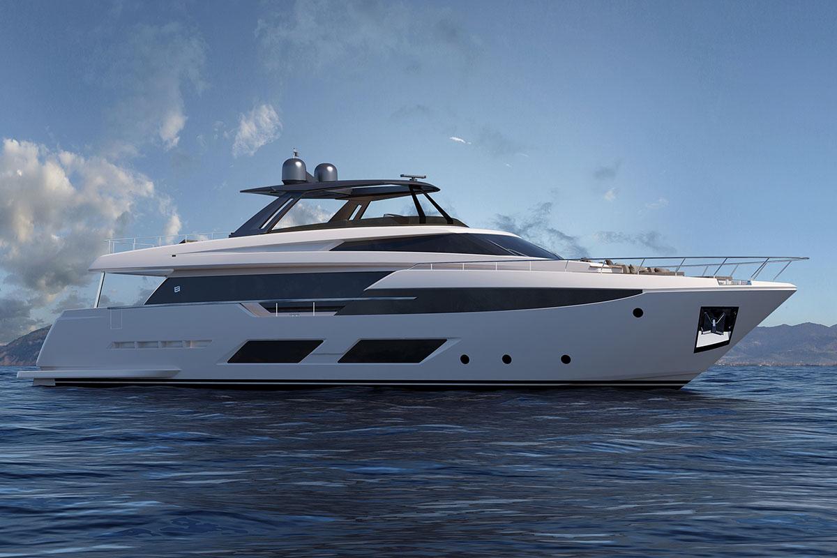 Ferretti anuncia novo projeto de mais de 92 pés; conheça a Ferretti 920