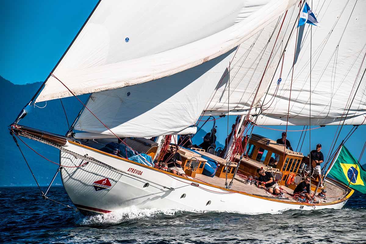 Copa Pimentel Duarte de veleiros clássicos veleiro Atrevida