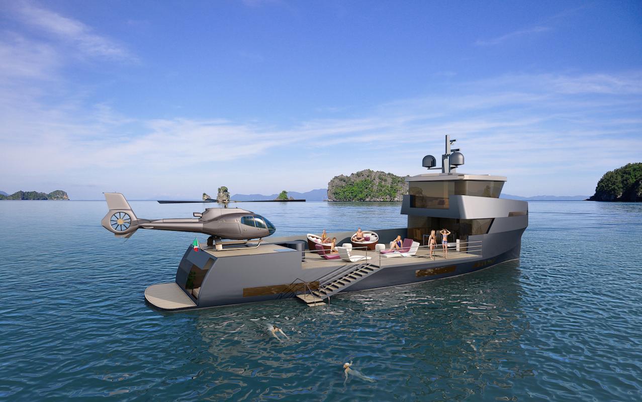 Cheyenne Yachts revela um ousado projeto de 85 pés