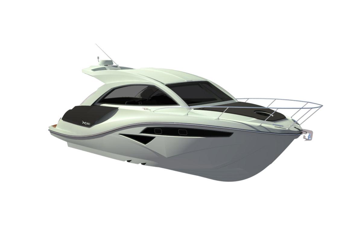 NX 380 HT HORIZON Boat Shopping