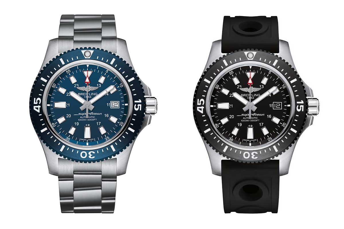 1f4e4279d64 Breitling lança relógio Superocean 44 Special