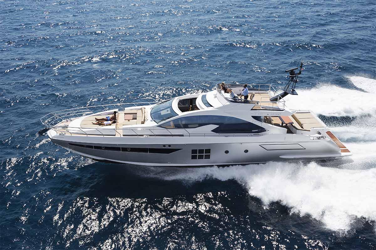 Azimut 77S com motores Volvo Penta IPS - Boat shopping