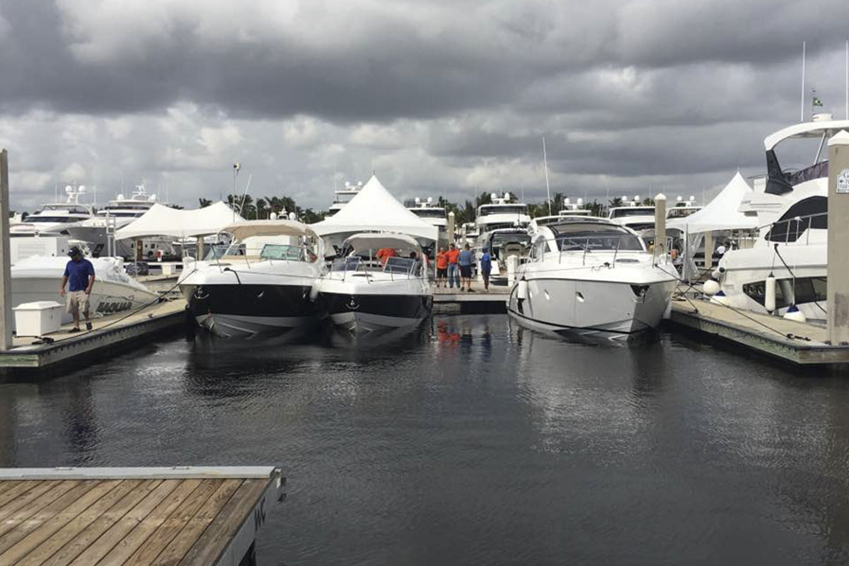 Schaefer chega para o Fort Lauderdale International Boat Show FLIBS 2017 - boat shopping