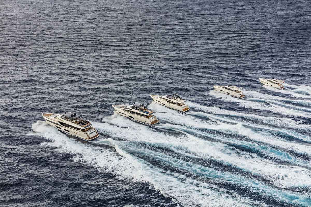 Awards Ferretti Yachts in China - boat shopping