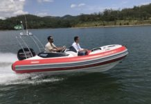 flexboat flex 450 boat xperience - boat shopping