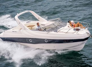 lanchas coral 33c boat xperience - boat shopping