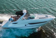 sp marine mondblu sea ray 375 boat xperience - boat shopping