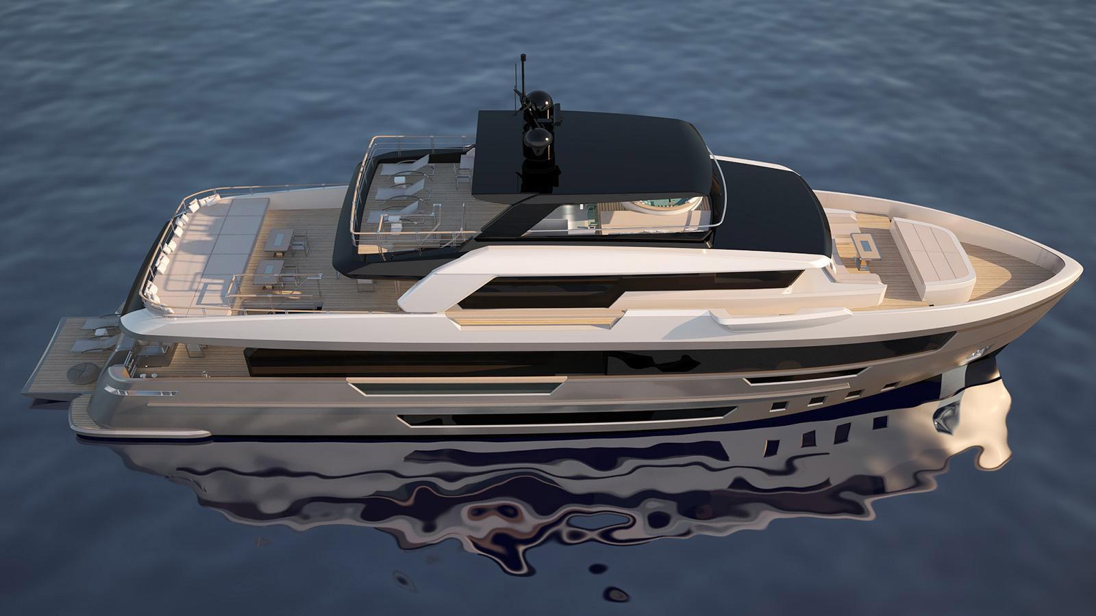 Filippetti divulga detalhes do iate explorer E32-boatshopping