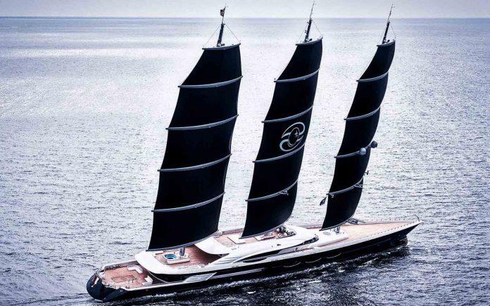Oceanco entrega o veleiro Black Pearl de 106 metros-boatshopping