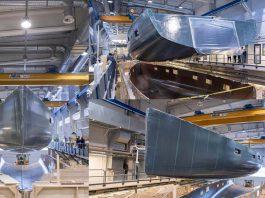 Veleiro Liara, de 34 metros, toma forma na Baltic Yachts-boatshopping
