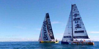 Chegada Volvo Ocean Race - boat shopping