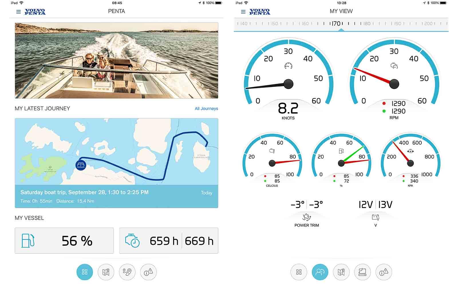 Easy Connect novo app volvo penta - boat shopping 4