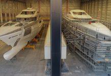Segundo iate Bilgin de 80m Bilgin toma forma-boatshopping