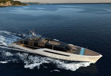 Designer italiano apresenta o conceito de iate Pentagramma-boatshopping