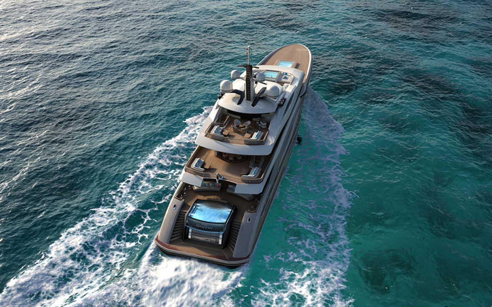 Fincantieri revela mais detalhes sobre o superiate Griffin 66-boatshopping