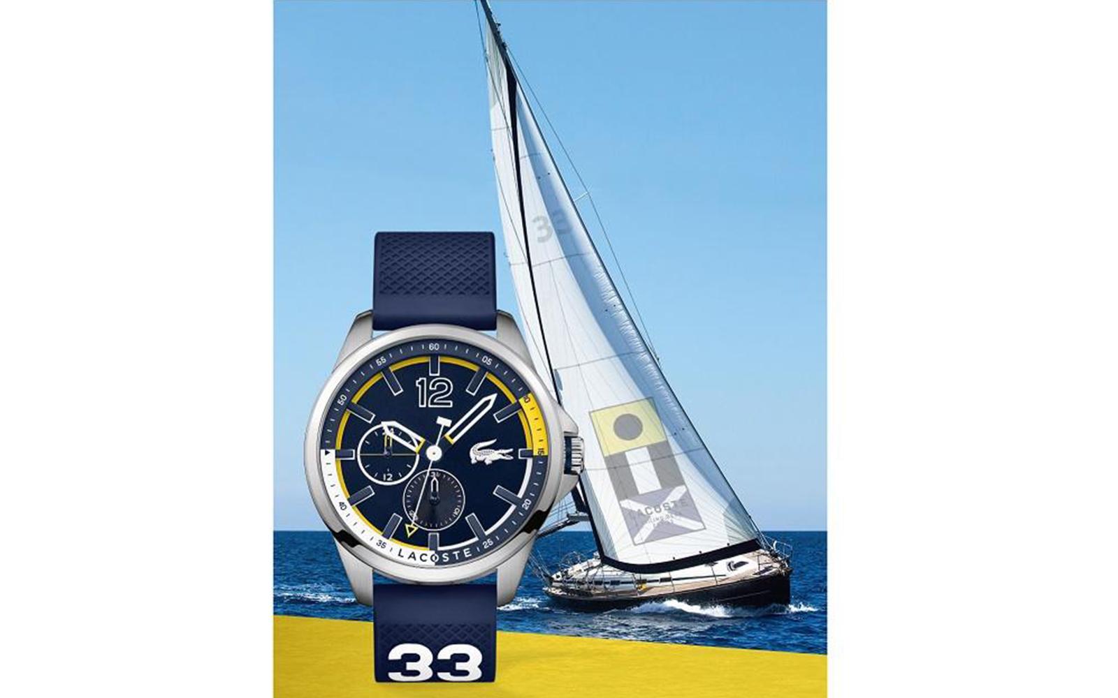 f516fd88cd9 Novo relógio Lacoste Capbreton traz no design herança náutica - Boat ...